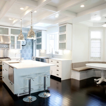 banquette-seating-Kitchen-Contemporary-with-banquette-seating-bay-window-beadboard-coffered-ceiling